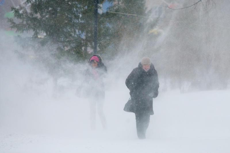 ВПодмосковье объявлен «желтый» уровень опасности на8декабря