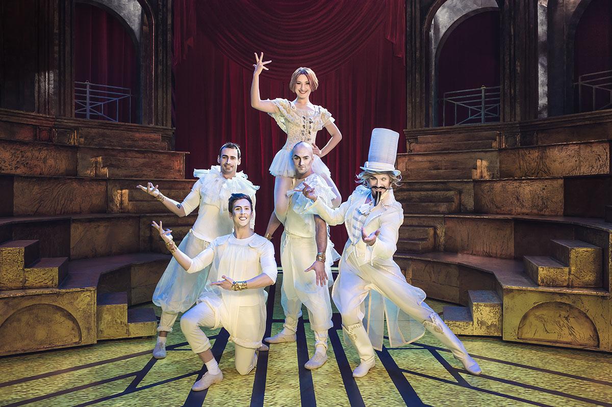 В российской столице состоится грандиозная премьера мюзикла «Принцесса цирка»
