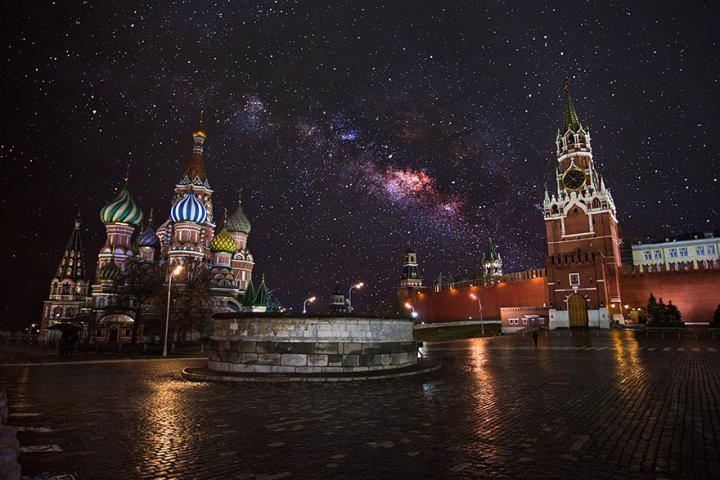 Над Москвой наопасном расстоянии отвертолета пролетел НЛО