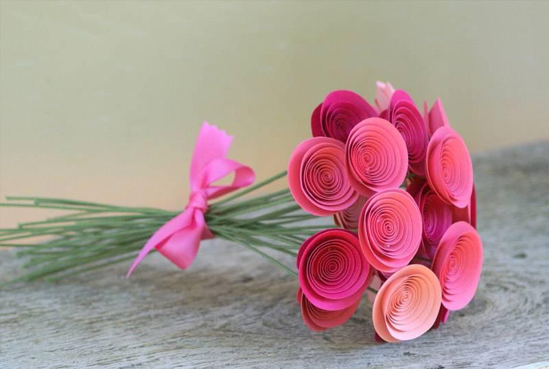Как сделать из бумаги цветы красивые