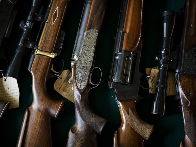 ВПодмосковье упенсионера изъяли коллекцию оружия