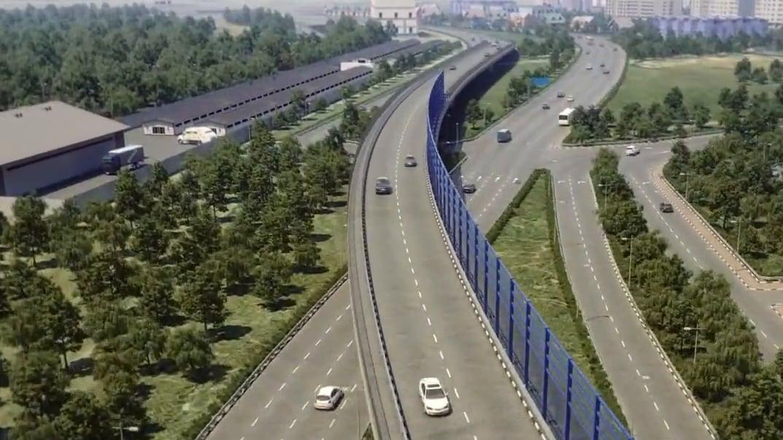 Участок дороги Солнцево-Бутово-Видное введут в 2018г.