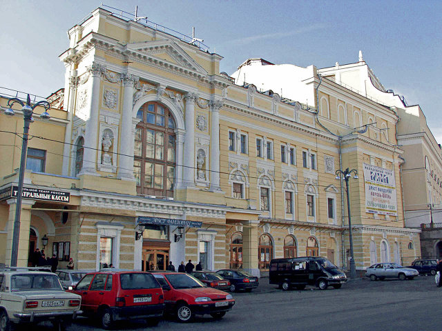 Схвачен хулиган, устроивший погром вмногоэтажном здании театра РАМТ в столице России
