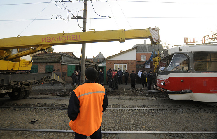ВЕкатеринбурге столкнулись трамваи