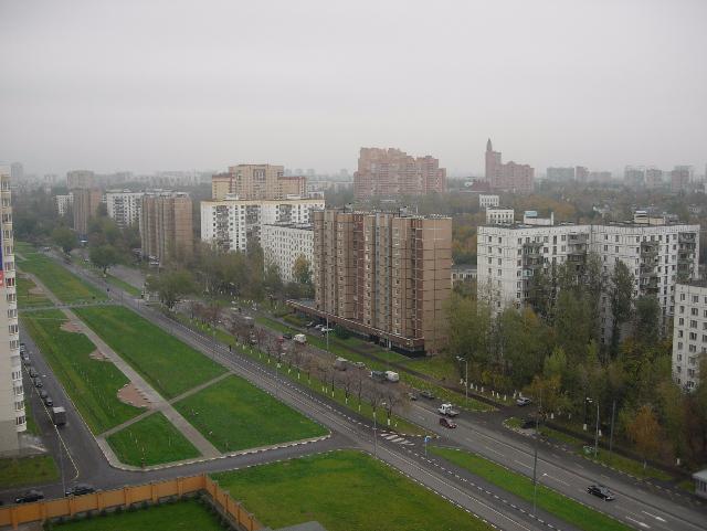 Участок Окской улицы наюго-востоке столицы реконструируют
