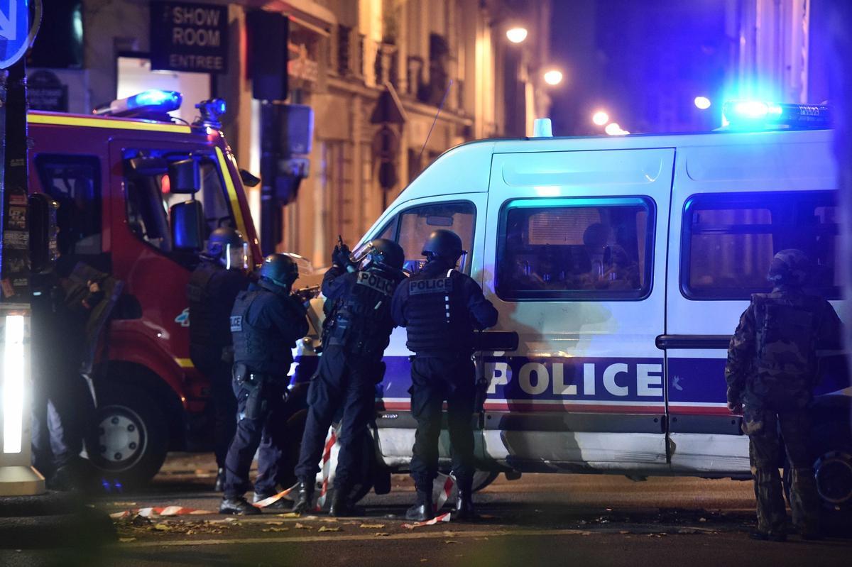 Встолице франции произошел взрыв упосольства Иордании