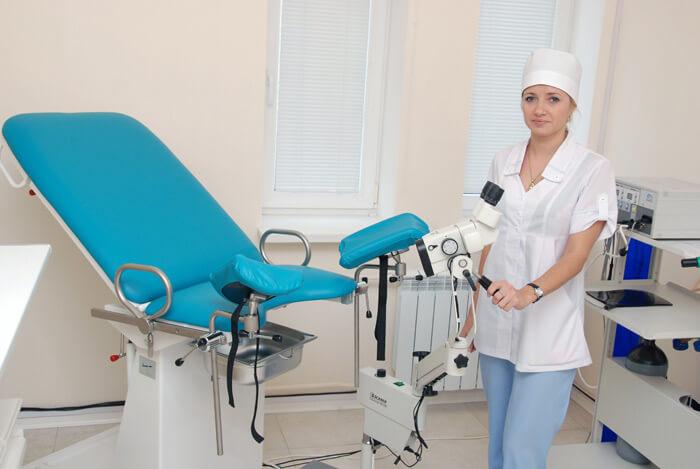 смотреть фото прием гинеколога