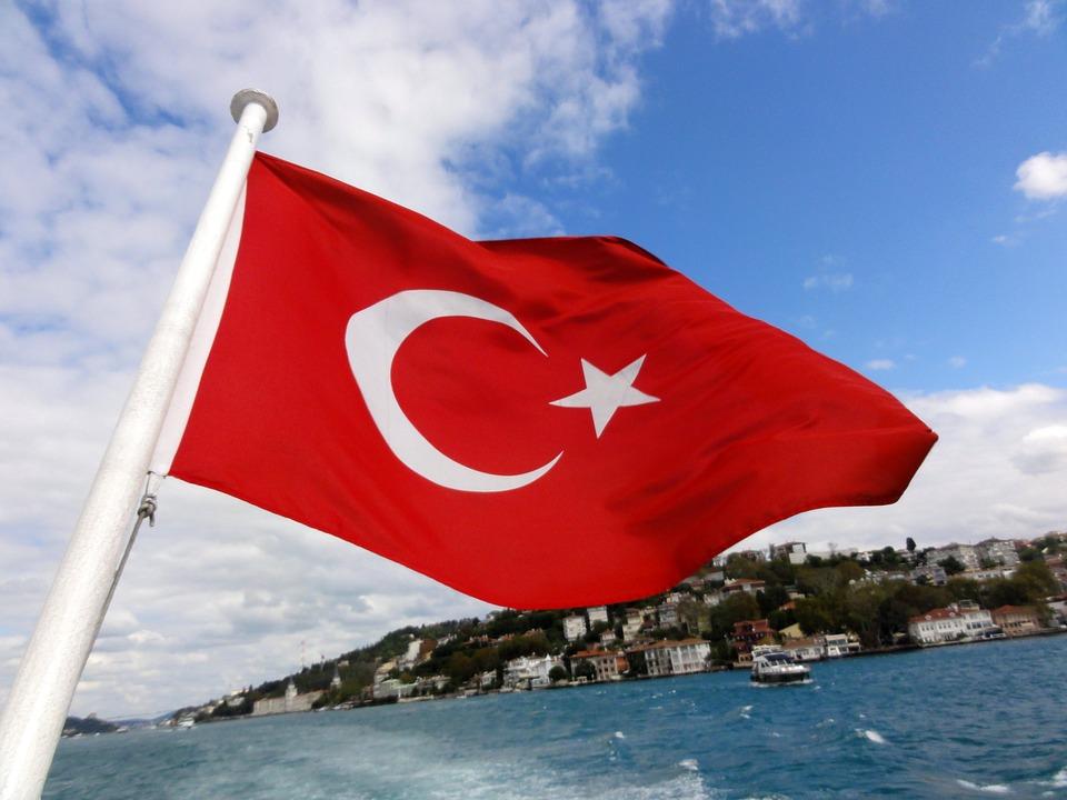 турецкий флаг. CC0