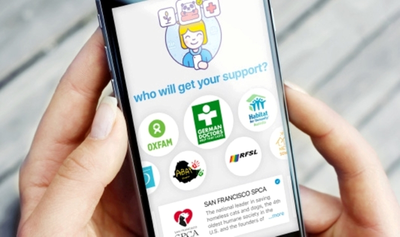 В Российской Федерации появилось первое приложение для благотворительности Mercify