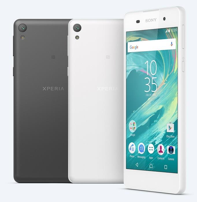 Sony представила бюджетный смартфон Xperia E5