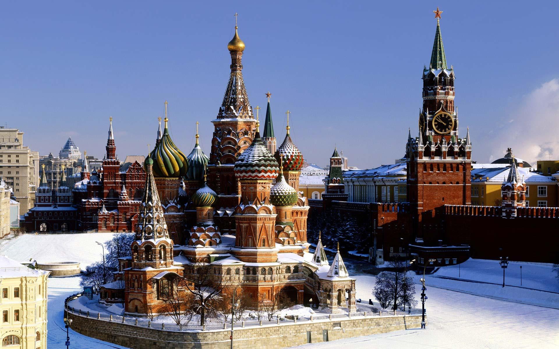 Обои на рабочий стол кремль россии