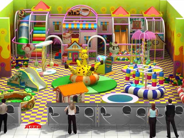 детская игровая комната в торговом центре