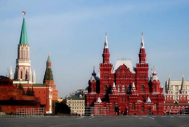 Красная площадь закрыта для гостей до9мая