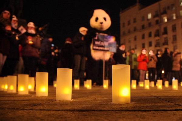 Граждан Земли призывают вечером начас погасить свет