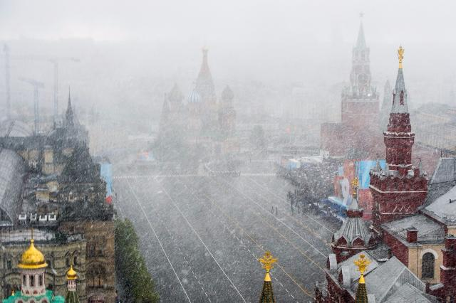 Погода в российской столице наДень Победы испортится, реален мокрый снег
