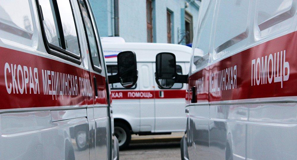 Инкассаторская «газель» опрокинулась в российской столице