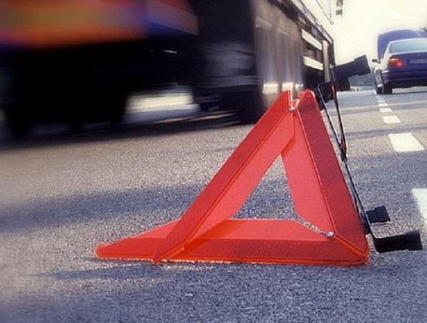 В столице России  у фургона  МАЗ отлетело колесо иударило пешехода