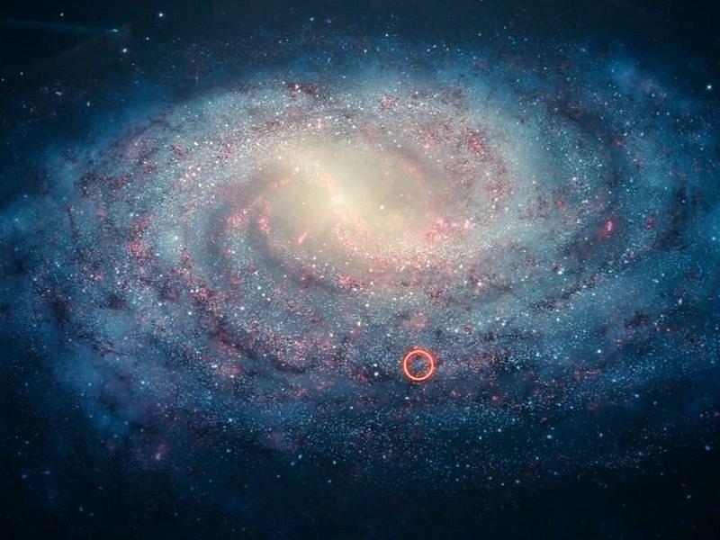 Фото как выглядит наша галактика