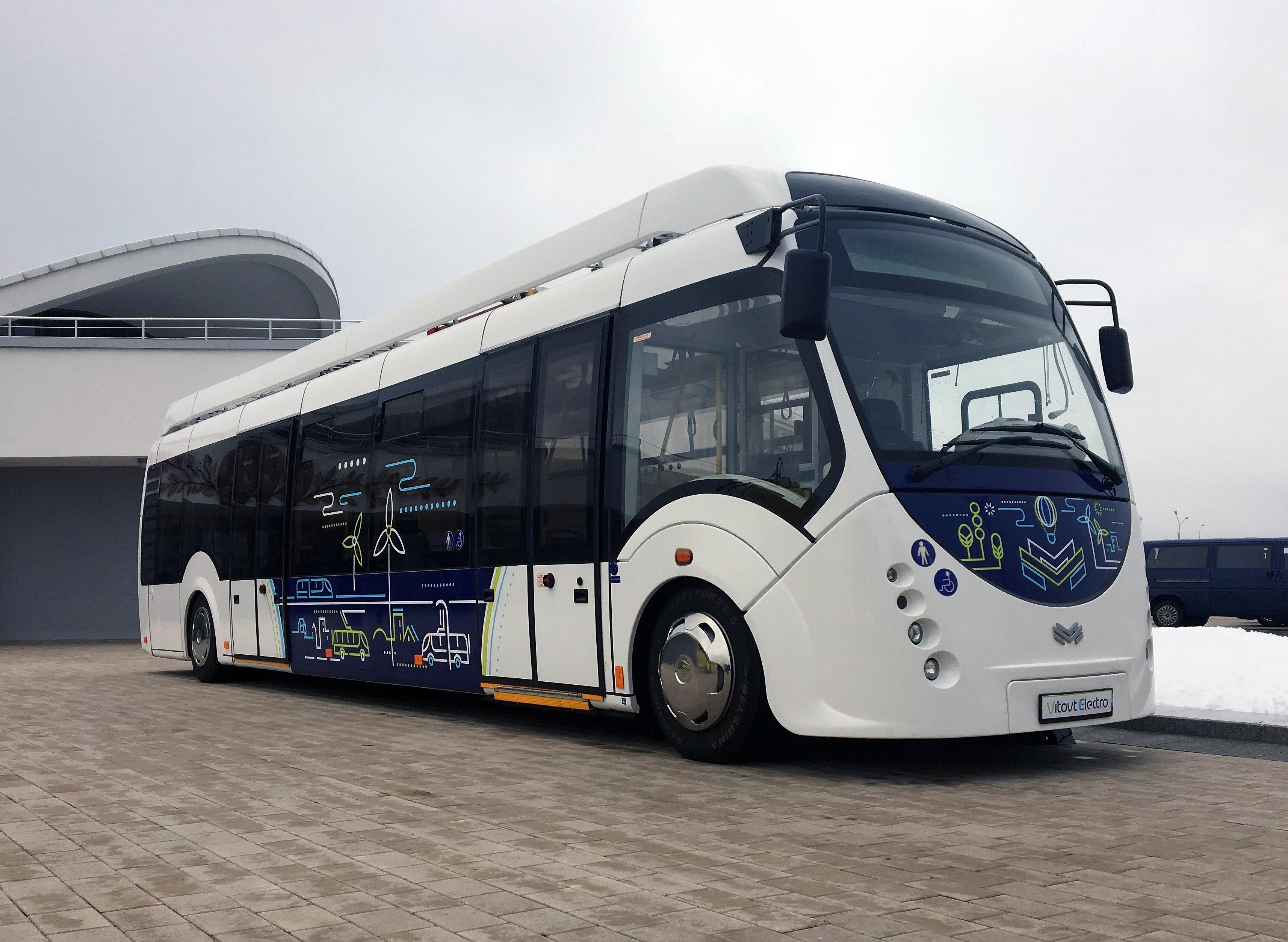 Новый маршрут электробуса запустили в «Сколково»