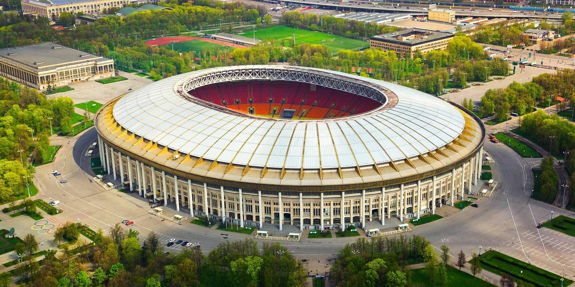 Футболу чемпионат москва стадион по мира 2018