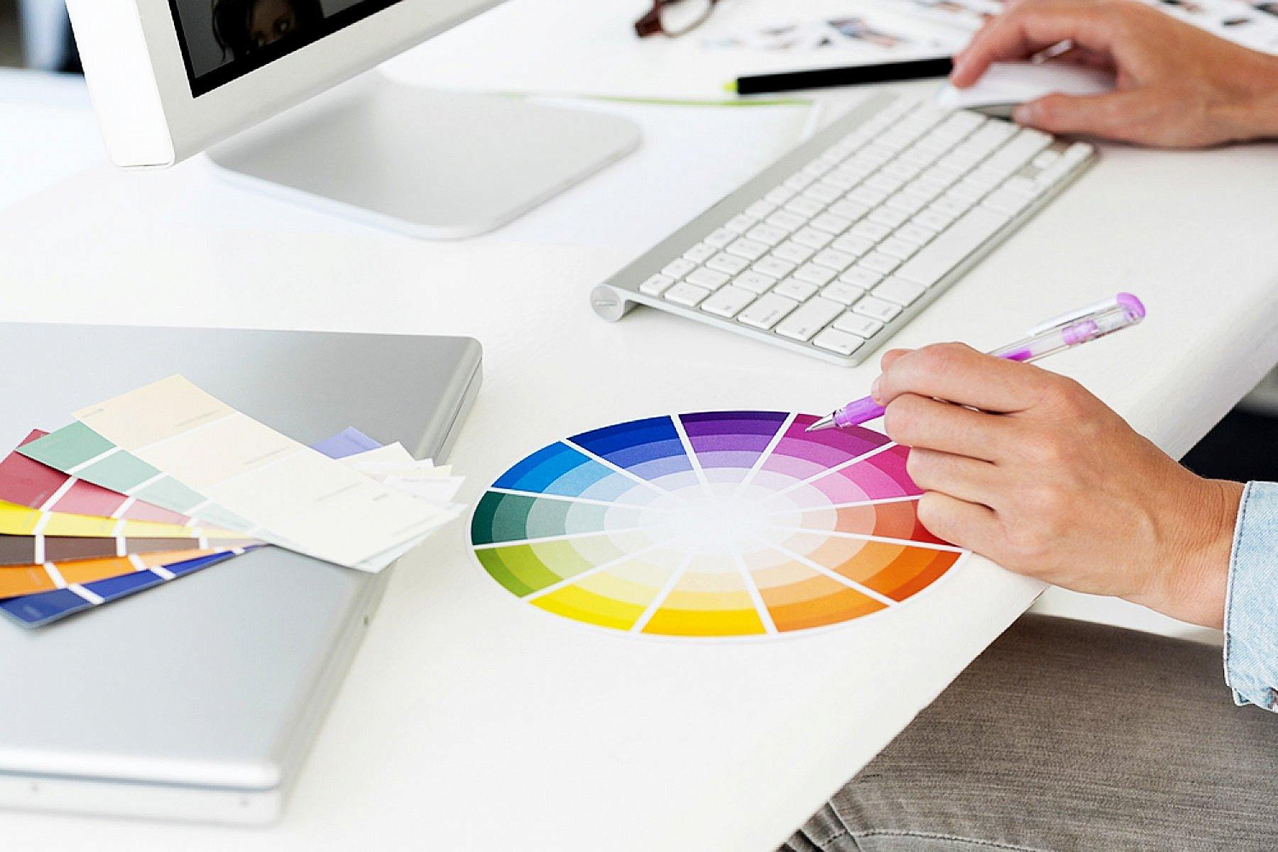 Веб дизайн и дизайн полиграфии