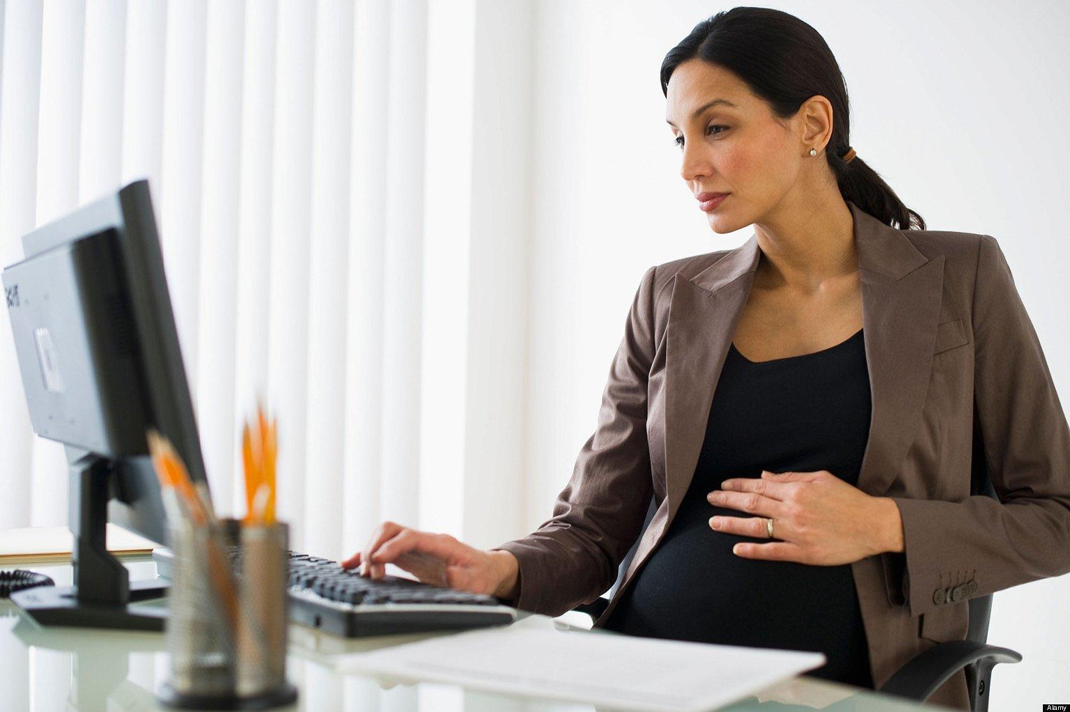Условия труда для беременных женщин