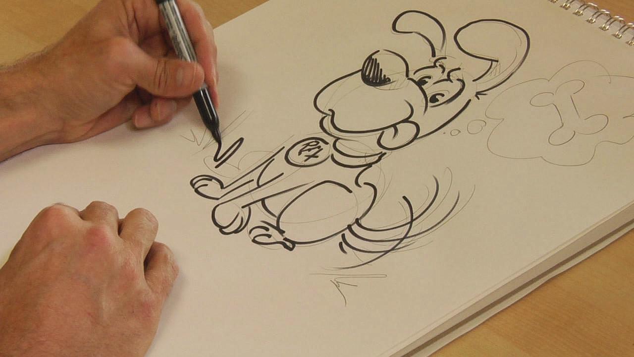 Рисованные мультики своими руками