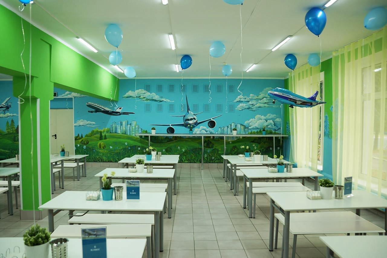 Первого сентября ещё 34 московские школы откроют тематические рестораны