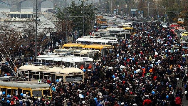 праздник мосуовского троллейбуса
