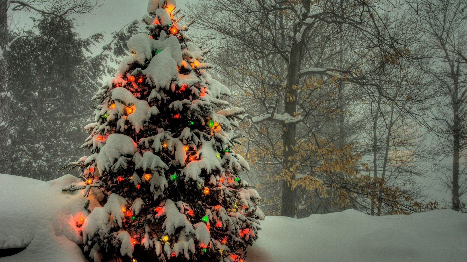 Гаджет usb neodrive елочка с подсветкой, 30 см