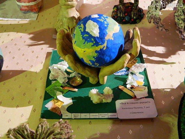 Поделки в детский сад экология
