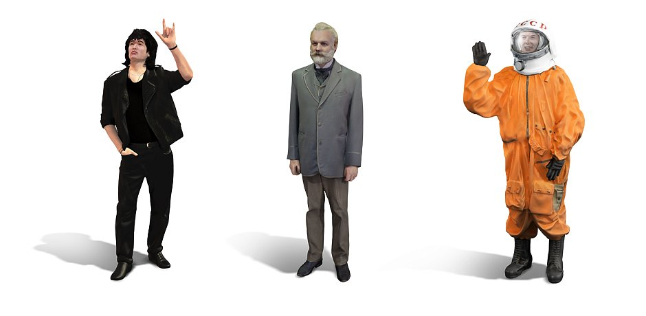 В «Сокольниках» можно встретить виртуального двойника Юрия Гагарина