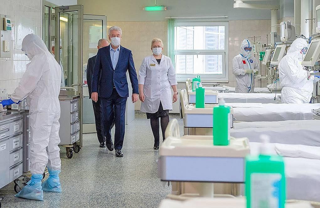 Более 20 московских городских больниц перепрофилированы под лечение COVID-19