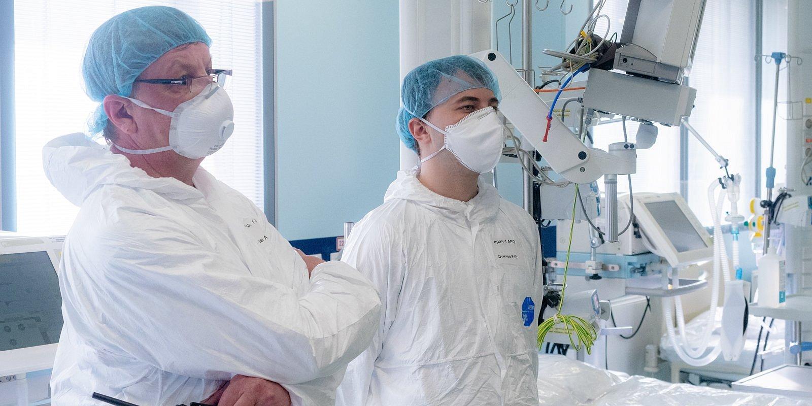 ГКБ №15 имени О.М. Филатова готова принимать пациентов с коронавирусной инфекцией