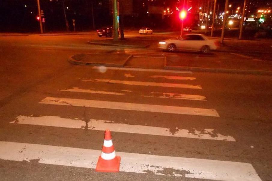 сомневаюсь, сбил пешехода не на переходе увидел ровно